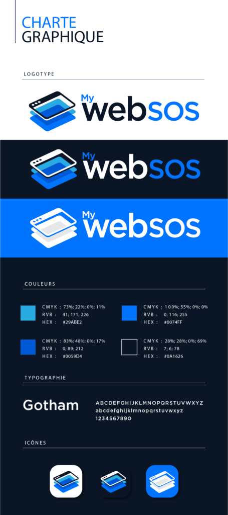 charte graphique my web sos